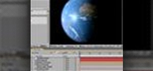 Create a realistic 3d earth using only After Effects