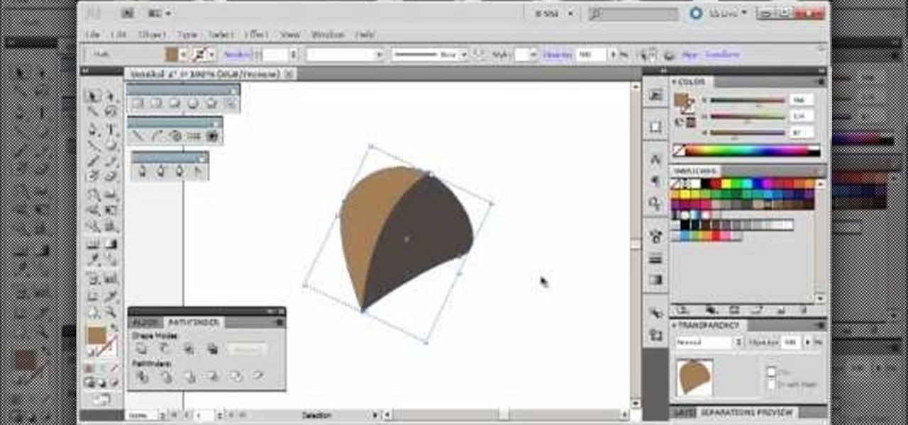 How To Make A Leaf Using Vector Graphics In Adobe