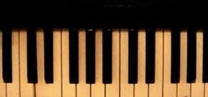 "Play ""Amazing Grace"" on piano with 3 chords"