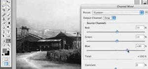 Create a split tone effect in Photoshop
