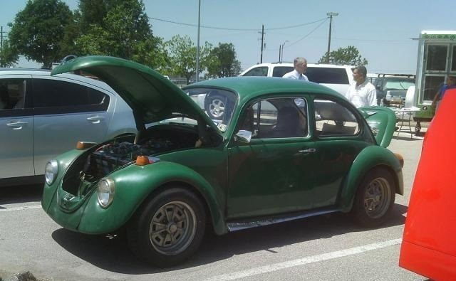 "This 1974 Gas-Guzzling Beetle Is Now an Eco-Friendly Electric ""Voltswagon"""