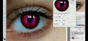 Use Photoshop CS3 to change the color of someone's eye