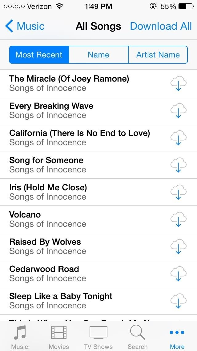 how to download music to iphone from family account