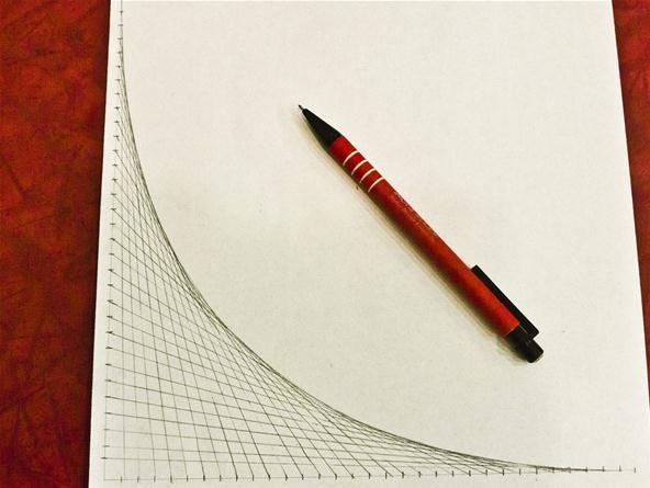 how to draw straight curvrd lines