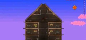 Get the red hat from the clothier in Terraria
