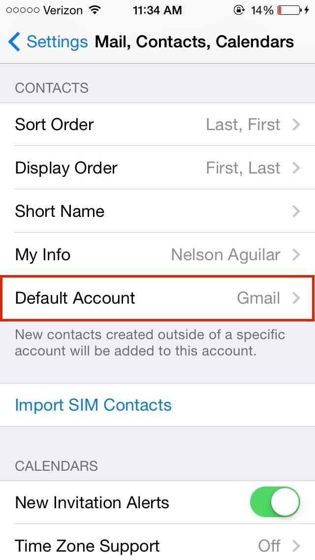 iphone contacts missing