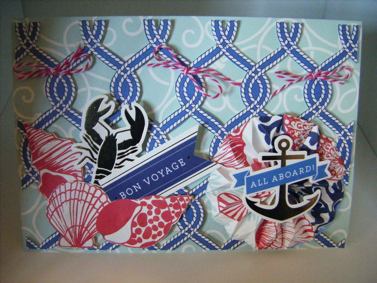 How to Make a Seafarer Rope Cut Collective Card
