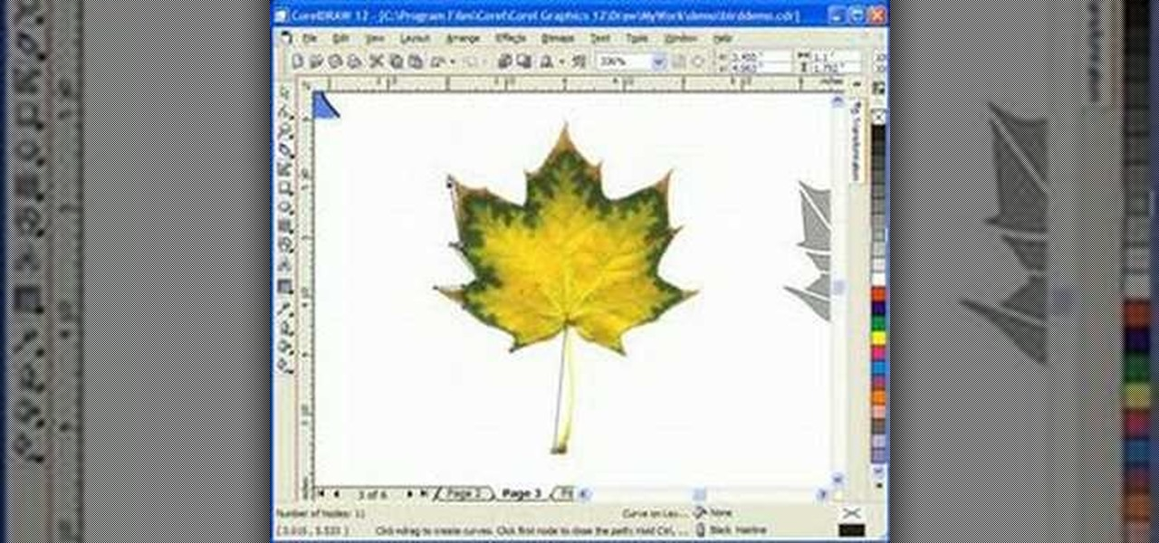 how to design scroll saw patterns with corel draw software tips wonderhowto. Black Bedroom Furniture Sets. Home Design Ideas