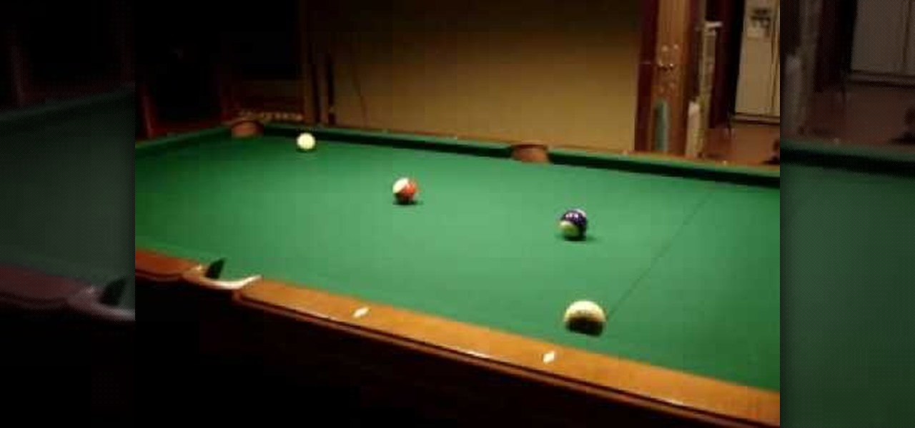 Peachy How To Do The Mirror Bank Pool Trick Shot Billiards Pool Download Free Architecture Designs Viewormadebymaigaardcom