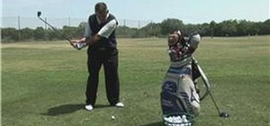 Avoid slicing with your driver off the tee in golf
