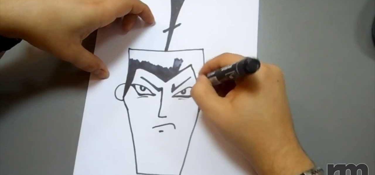 Draw Samurai Jack