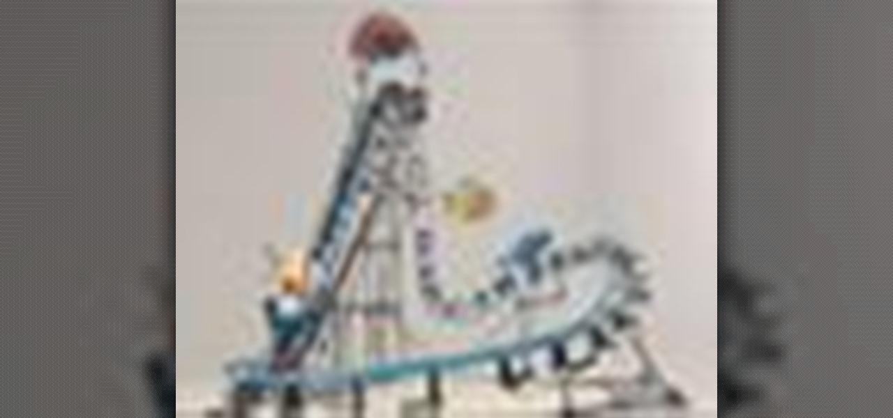 How to Build your K'NEX Shark Run Roller Coaster « Construction Toys ...