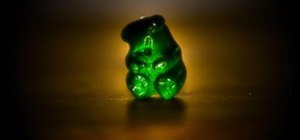 Vibrant Color Photography Challenge: Evil Gummy Bear
