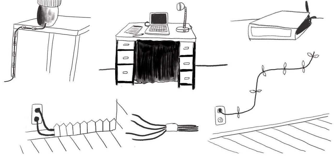 how to hide  u0026 reduce ugly cable clutter  u00ab the secret yumiverse