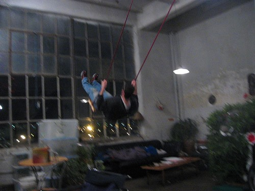 Why Not Swing Indoors