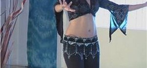 Do the hip snap move in belly dancing