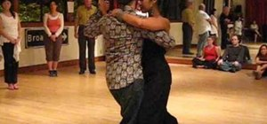 Focus on milonga basic rhythm & phrasing in tango
