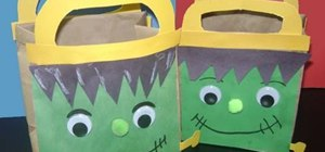 Make a Frankenstein picnic bag