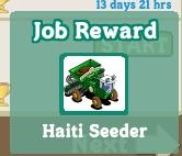 FarmVille Haiti Promotion
