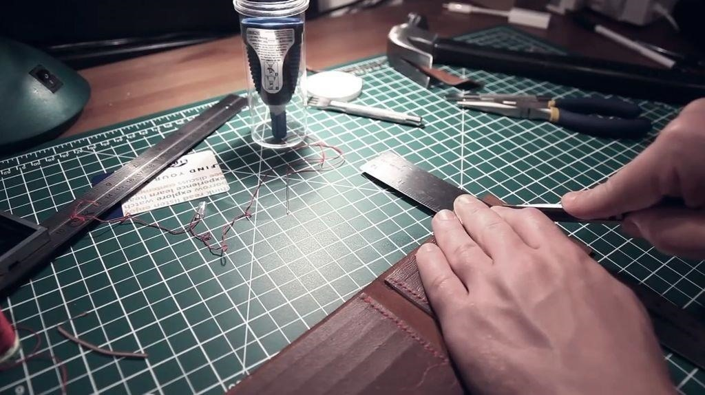 How to Make a Leather Wallet