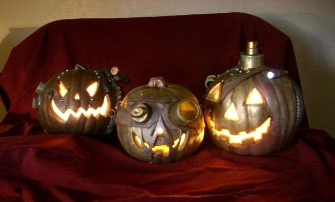Lazy Jack-O'-Lanterns: 11 Creative Ways to Decorate a Halloween Pumpkin Without Carving