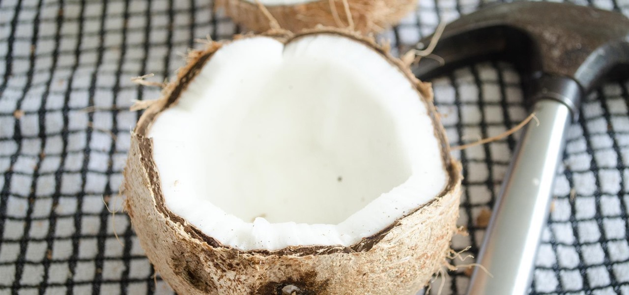Get Water Out of a Coconut Without a Drill