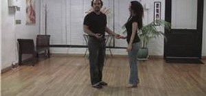 Do the Bachata reverse basic steps