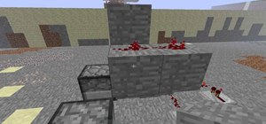Build a high powered arrow gun in Minecraft