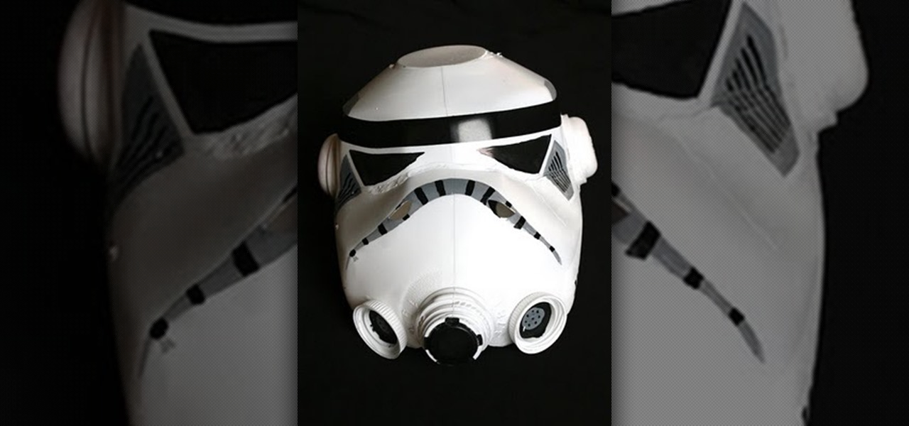 How to Make a Storm Trooper Helmet Out of Old Milk Jugs