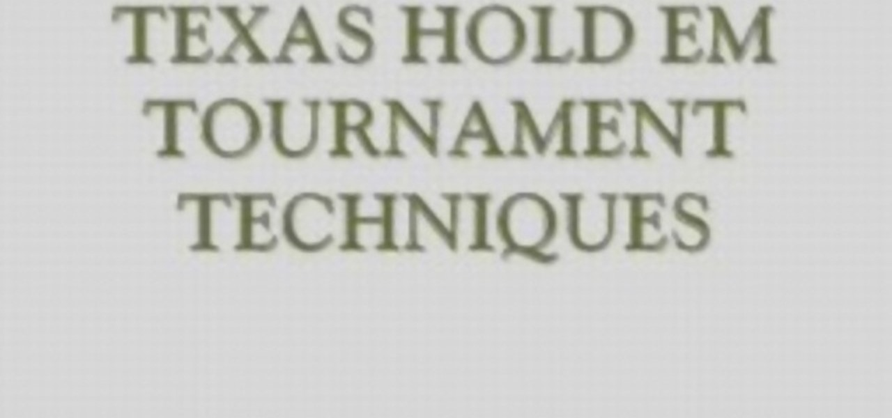 How to improve texas holdem skills