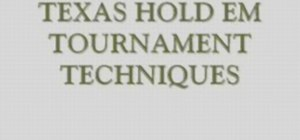 Improve your Texas Hold'em poker tournament game