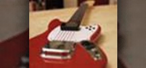 Handle the Fender Mustang rock guitar controller for Rock Band 3
