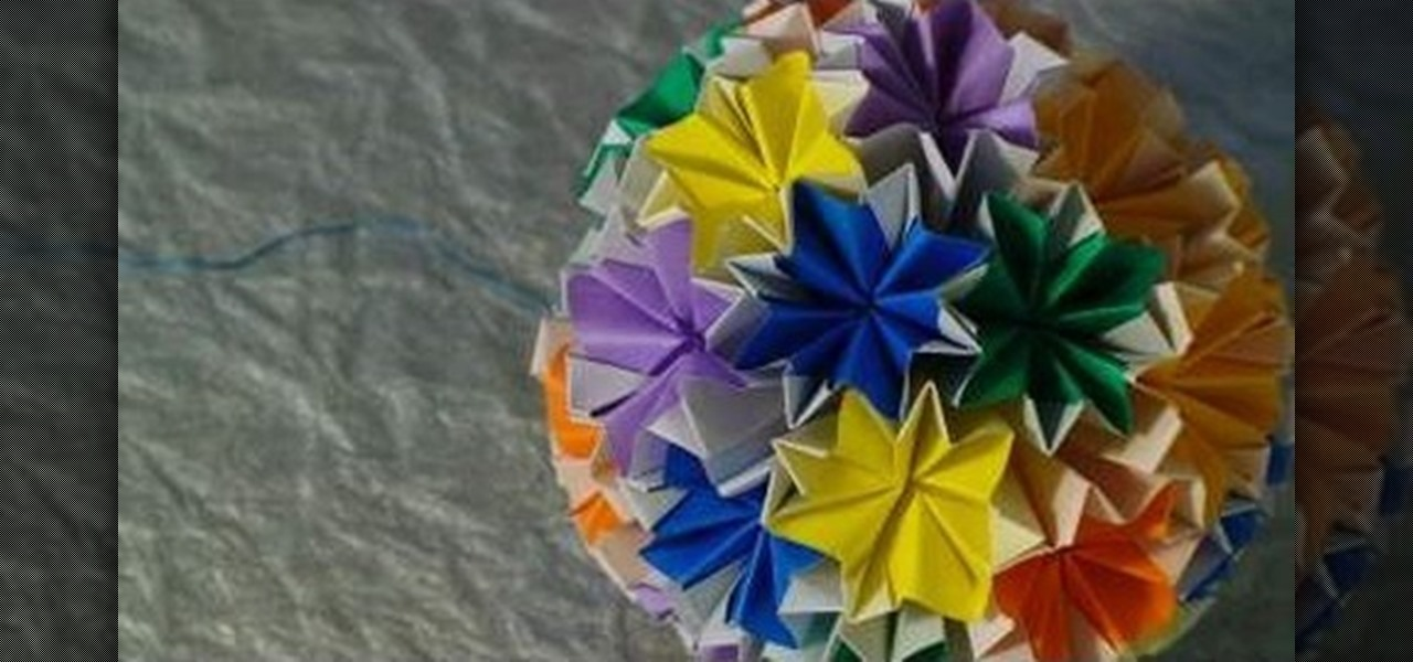 How to make an origami kusudama venus origami wonderhowto mightylinksfo