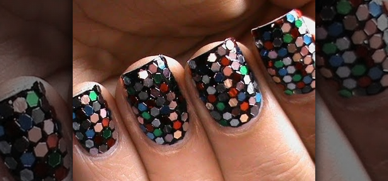 Do Sequin Nail Manicure!