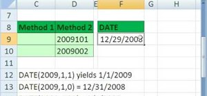 Create date labels with YEAR, DATE & TEXT in MS Excel
