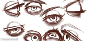 Draw different kind of eyes