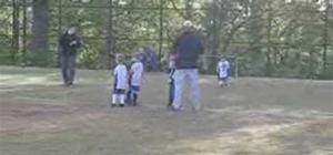 Our Grandson's Soccer Game