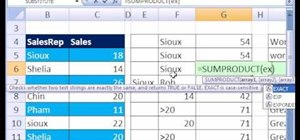 Add with case-sensitive criteria in Microsoft Excel