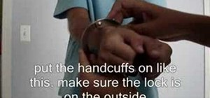 Transform fake handcuffs into inescapable handcuffs
