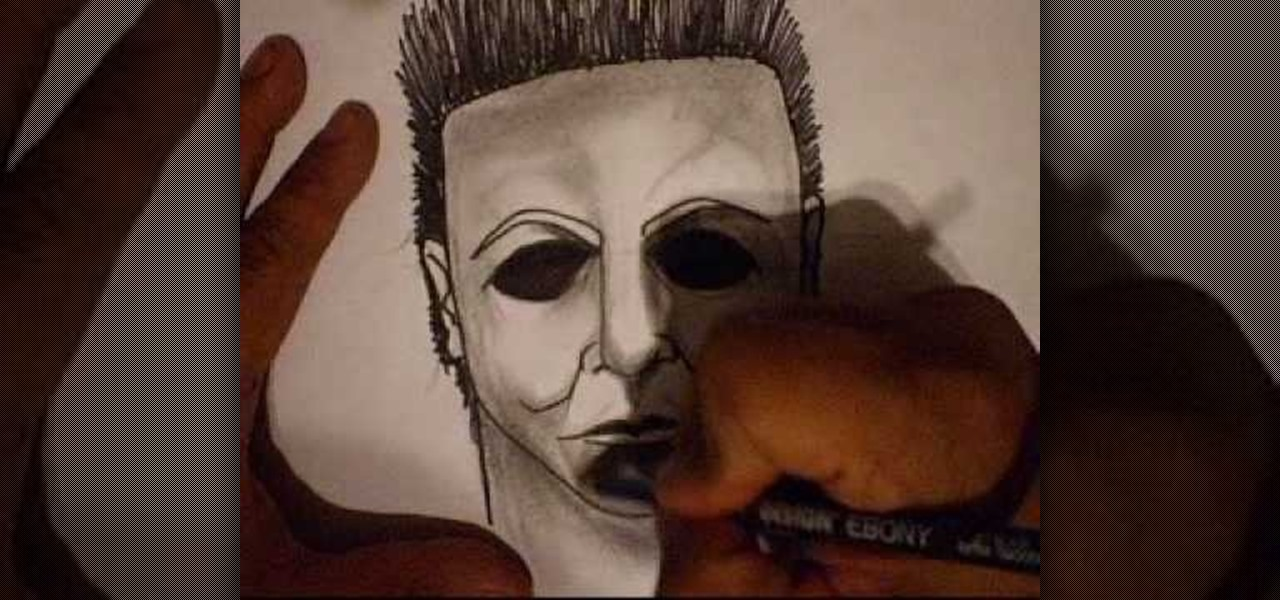 How to Draw Michael Myers from Halloween « Graffiti ...