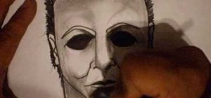 Draw Michael Myers from Halloween