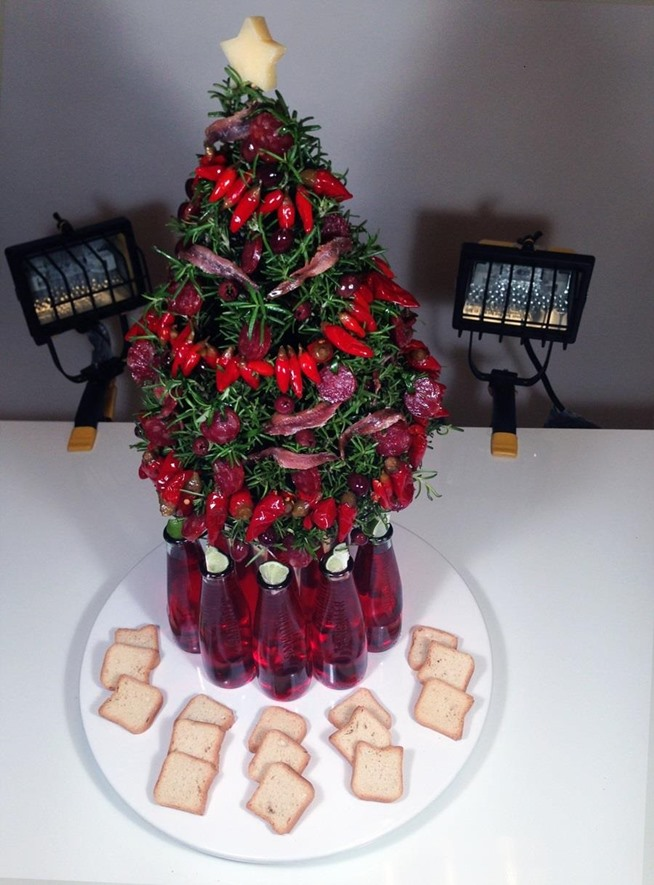 How to Make a Gastronomically Correct Christmas Tree You Can Eat ...