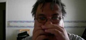 Play Stormy Monday on the blues harp
