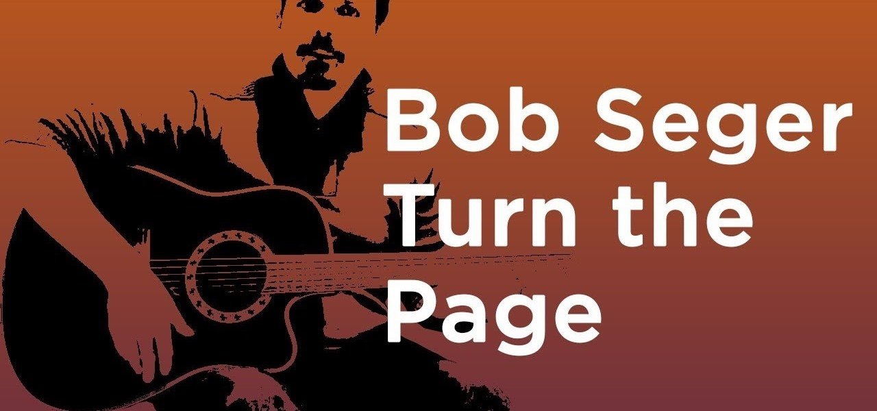 Bob Seger - Turn the Page - Guitar Lesson - How to Play Easy ...