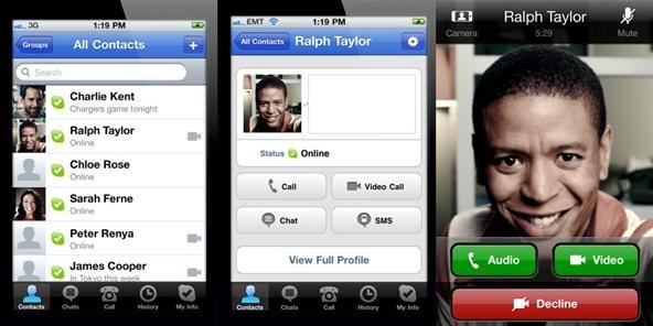 Skype для iphone 4 - фото 6
