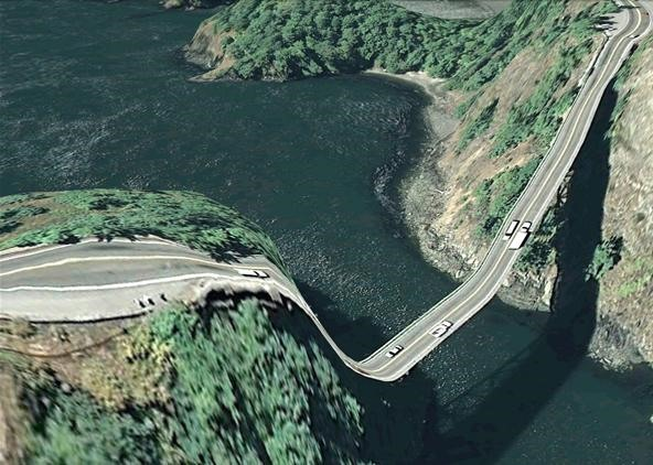 Technology Begets Art: Google Earth Gets Trippy
