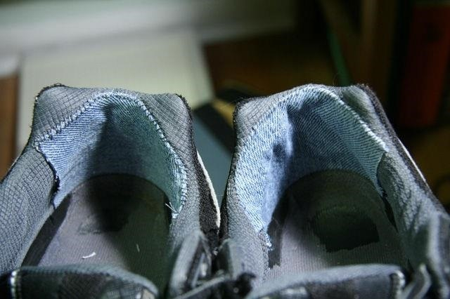 How To Fix The Worn Out Heel Linings In Your Ragged Shoes