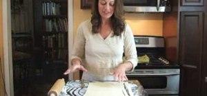 Create a puff-pastry cornucopia