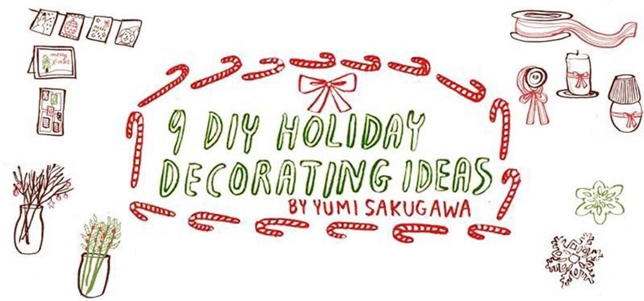 9 Easy DIY Holiday Decorating Ideas