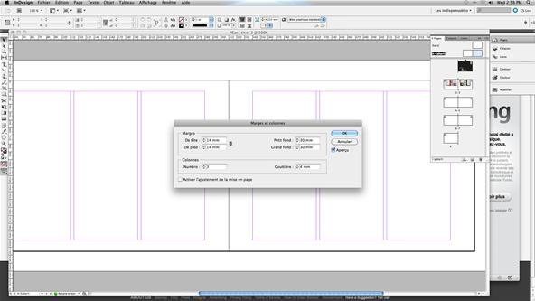 import multple pdf pages into indesign